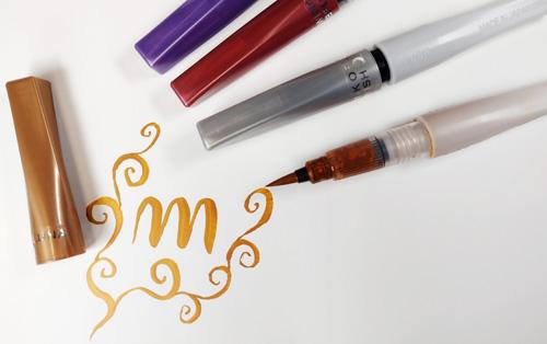 Wink Of Luna brush pen sivellintussit